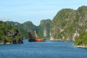 Red River to Halong Bay